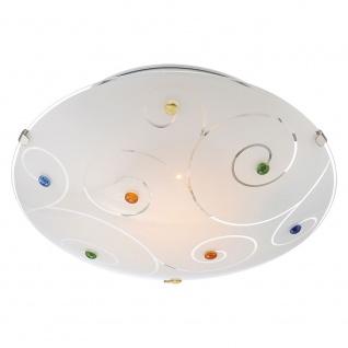 Globo 40983-1 Fulva Deckenleuchte Ø 25cm Glas - Vorschau