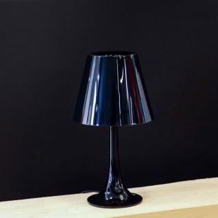 FLOS Miss K Tischleuchte mit Dimmer Schwarz Designerleuchte Design Tischlampe