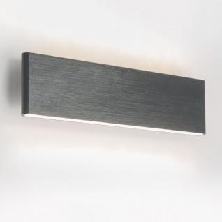 Licht-Trend Slim LED-Wandleuchte Up&Down 540lm Alu-Matt