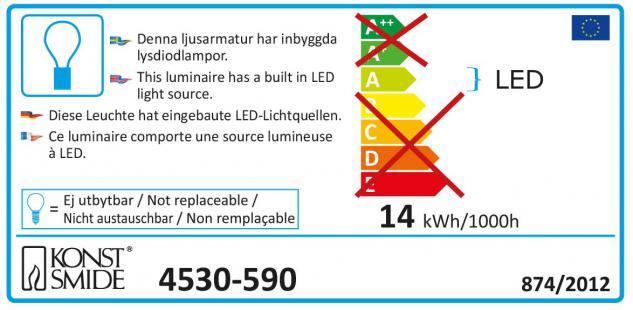 Konstsmide 4530-590 LED Laser, mit bewegten und funkelnden Punkten, mit Fernbedienung, Bewegungssensor und wählbarem 4h/6h und 8hTimer , inkl. Erdspieß, rote und grüne Dioden, 12V Außentrafo - Vorschau 5