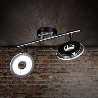Licht-Trend Sempre Due / LED-2er Spot drehbar / Chrom Deckenlampe Deckenstrahler