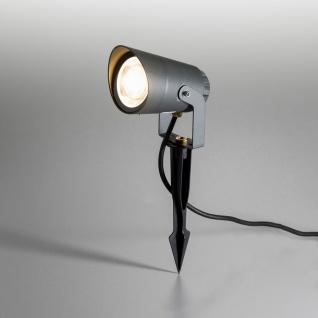 Licht-Trend Spit LED-Außenstrahler 35cm 850lm Anthrazit Spießstrahler