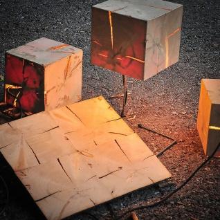 Almleuchten W1 Altholz Wand-/Deckenleuchte mit flächigem Licht Holz-Wandlampe - Vorschau 2