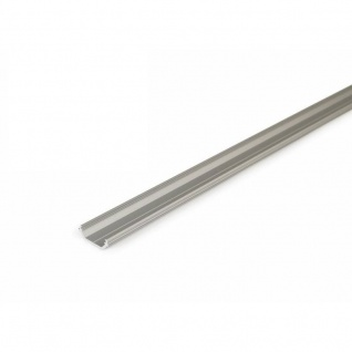 Aufbau-Eckprofil 45° 200 cm / Alu-eloxiert ohne Abdeckung für LED-Strips