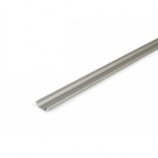 Aufbau-Eckprofil 45° 200cm / Alu-eloxiert ohne Abdeckung für LED-Strips