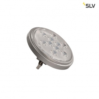 SLV LED QR111 G53 Leuchtmittel 13° Silbergrau 2700K 800lm SLV 560622