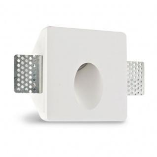 Pro-Light Gips-Einbaustrahler quadratisch 10 x 10cm Streichbar
