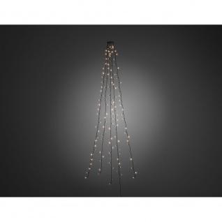 LED Baummantel mit Ring für Weihnachtsbaum 5 Stränge 40 Dioden 200 Warmweiße Dioden 24V Innentrafo