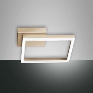 Fabas Luce LED Deckenlampe Bard 1980lm Gold-Edelmatt - Vorschau 3