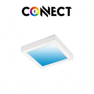 Connect LED Deckenlampe 22, 5x22, 5cm 2000lm RGB+CCT