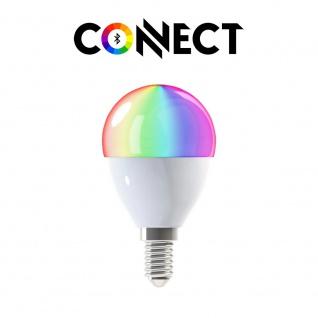Connect E14 LED Leuchtmittel 400lm RGB+CCT