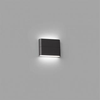 LED Außenwandleuchte ADAY-1 3000K IP54 Dunkelgrau