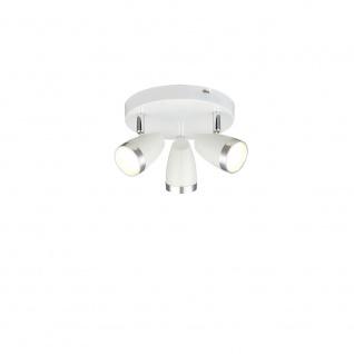 Globo 56109-3 Deckenleuchte Metall Weiß 3xLED