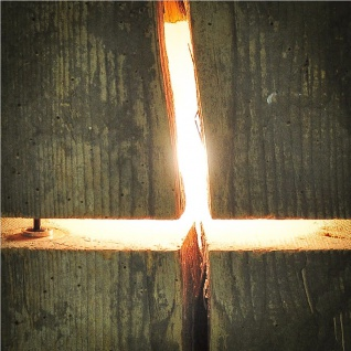 Almleuchten B1 massive Blockleuchte aus Altholz Braun Tischlampe aus Holz - Vorschau 5