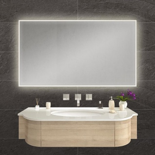 LED Bad Spiegel Aguilas XL 170 x 70cm mit Rundumbeleuchtung