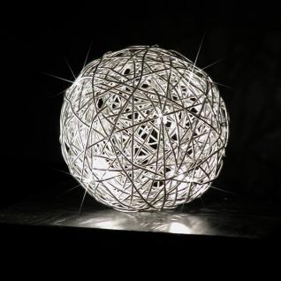 s.LUCE Mesh S Unlimited LED Drahtkugel Tischleuchte Ø 15cm Tischlampe Effektlampe