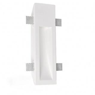 Pro-Light Gips-Einbaustrahler rechteckig 35 x 10cm Streichbar