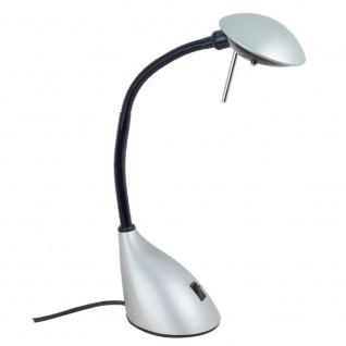 Paulmann Table&Desk Ida Schreibtischleuchte 1x20W G4 Silber 230/12V Metall/Kunststoff Tischlampe