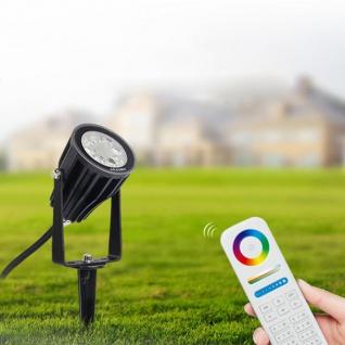 s.LUCE iLight LED-Gartenstrahler 6W RGB + CCT LED-Lampe Farbwechsel & Dual White - Vorschau 2