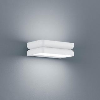 Helestra LED Wand-Außenlampe Snap IP54 1680lm Mattweiß