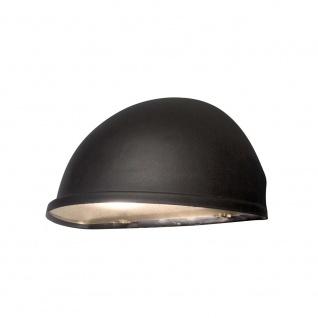Konstsmide 7326-750 Torino Aussen-Wandleuchte Schwarz Acrylglas