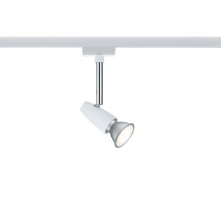 Paulmann URail System Light&Easy Spot BarelliLED 1x6, 5W GU10 Weiß Chrom 95155