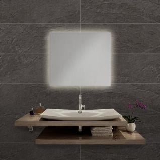 LED Bad Spiegel Nevada M 50 x 40cm mit Hintergrundbeleuchtung