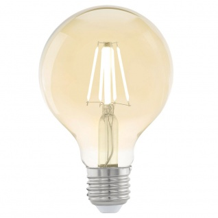Eglo 11556 E27 LED Vintage Globe Ø 8cm 4W 320lm Extra Warmweiß