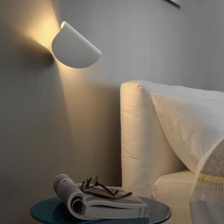 FontanaArte IO LED-Wandleuchte verstellbar weiss Designerleuchte