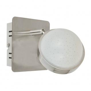 Wofi 4285.02.54.6500 LED Spot 2-flammig + Fernbedienung 2 x 420lm Nickel-Matt Chrom