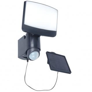 Lutec Sunshine LED-Außenwandleuchte IP44 500lm Schwarz
