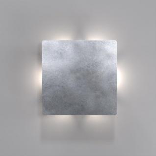 Nordlux Quadro Disc LED Aussen-Wandleuchte Zink (LT)