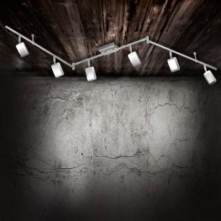 LeuchtenDirekt 11246-17 Wella LED Deckenleuchte schwenkbar 6 x 4, 20W 3000K Chrom