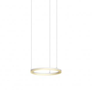 s.LUCE Pro LED-Hängeleuchte Ring S Dimmbar Ø 40cm Weiß Hängelampe LED-Ring