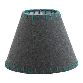 Eglo 49433 1+1 Vintage Filzschirm Ø 20, 5cm Grau Grün