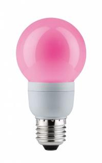 Paulmann Energiesparlampe Globe 60 Color 5W E27 Rot 88027