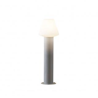 Konstsmide 7272-302 Barletta Energiespar Sockelleuchte Grau Acrylglas - Vorschau 3
