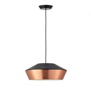 s.LUCE LED Pendelleuchte SkaDa Ø 40cm in Kupfer, Schwarz Pendellampe Hängelampe - Vorschau 2