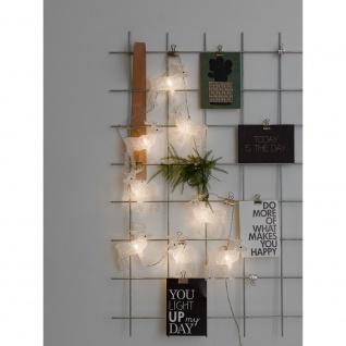 Konstsmide 1441-103 LED Dekolichterkette Acryl Elche mit an/aus Schalter Maße Elch: B: 11, 5cm H: 11, 5cm 8 warmweisse Dioden 24V Innentrafo