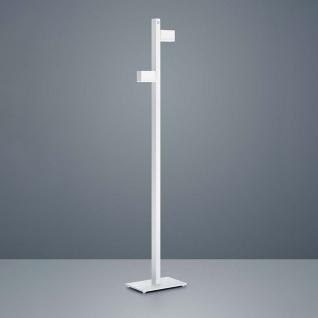 Helestra LED Stehleuchte Arta 157cm Weiß Chrom