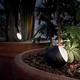Ideal Lux Zenith LED Spießleuchte Gartenstrahler Gartenspot Strahler Anthrazit
