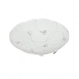 Wofi Rennes LED Deckenleuchte Weiß Deckenlampe