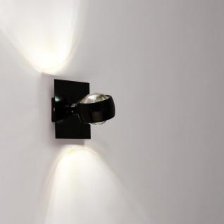 s.LUCE Dekoplatte Schwarz passend zu Beam 12 x 12cm Zubehör Innen - Vorschau 2
