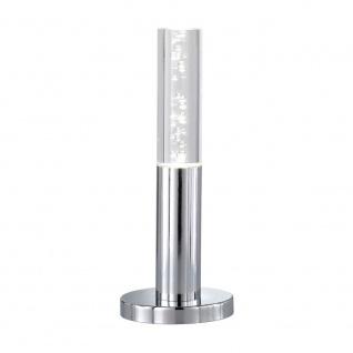 Wofi Midu LED Tischleuchte Chrom Tischlampe