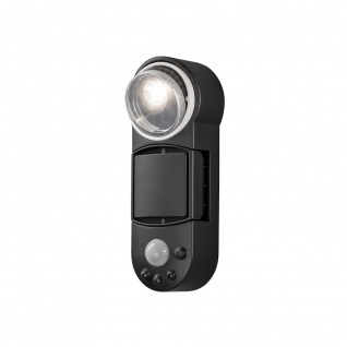 Konstsmide 7696-750 Prato Batterie LED Wandaufbauleuchte mit Bewegungsmelder schwenkbar 12V Schwarz - Vorschau 5