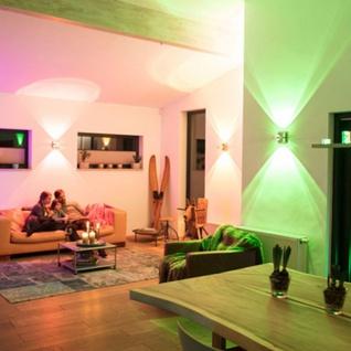 Paul Neuhaus LED Deckenleuchte Q-Fisheye 2 Stück RGBW 6462-55 - Vorschau 5