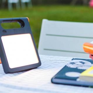 Mobile LED Solarlampe Padlight IP44 Weiß Solar Gartenlampe Gartenleuchte