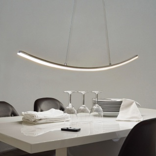 s.LUCE Curve geschwungene LED-Hängeleuchte 12 W LED Pendelleuchte
