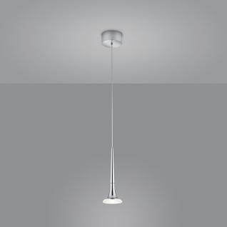 Helestra LED Hängelampe Flute Chrom 16/2001.04