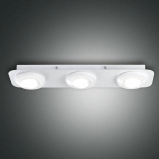 Fabas Luce 3270-63-102 Swan LED Deckenleuchte 2100lm Deckenlampe Weiß